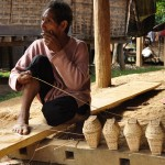 Hmong basket weaving