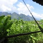 Bungalow view, Vang Vieng