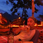 Sunset & Beer Lao