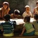 Hmong school kids