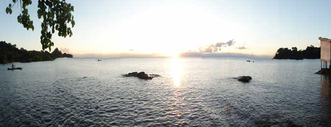 Early morning sunrise over Lake Malawi - Southern Africa's relaxation central!
