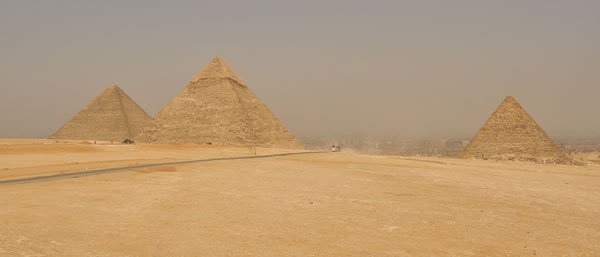 The great pyramids of Giza - the scale of these babies is quite astounding in real life (as are the number of tourists / touts)!