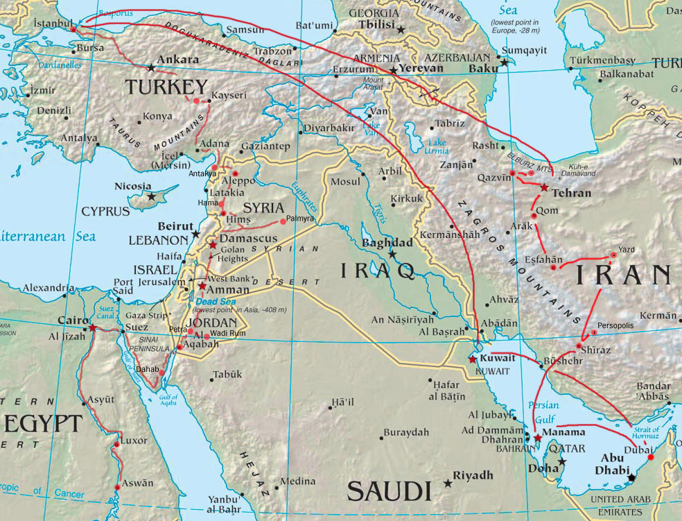 Navigating the Middle East