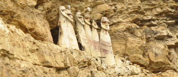 These brilliantly sculpted sarcophagi are located impossibly high on a cliff-face. All around this area are similar burial sites - forgotten people of lost civilizations watching carefully over the magnificent mountain landscapes.
